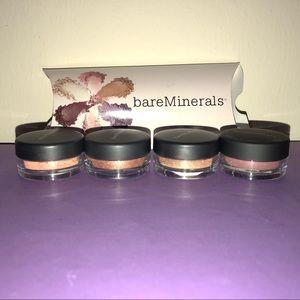 NWOT Bare Minerals 4 Piece Eyeshadow Kit